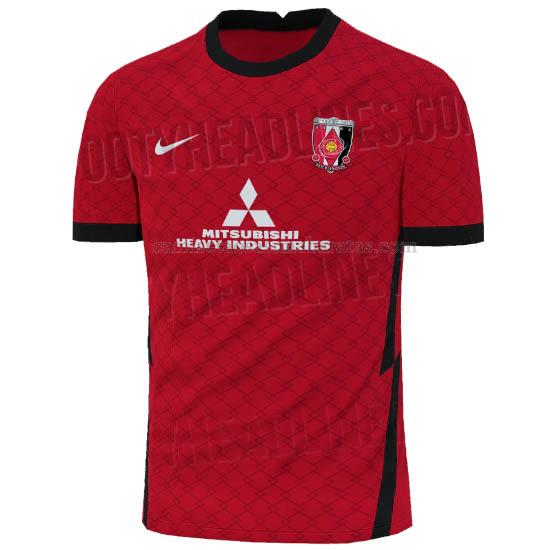 camisetas 1ª equipación concepto del urawa red diamonds 2021