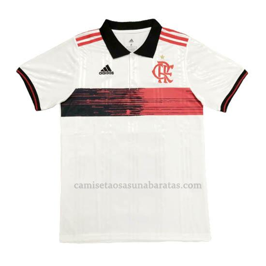 camisetas polo flamengo blanco 2020-21