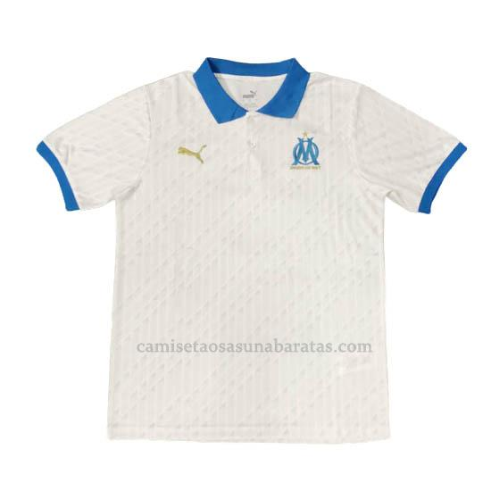 camisetas polo marseille blanco 2020-21