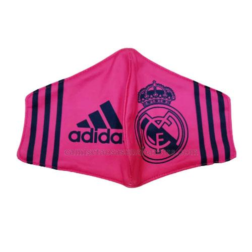 máscaras faciales real madrid rosado 2020-21